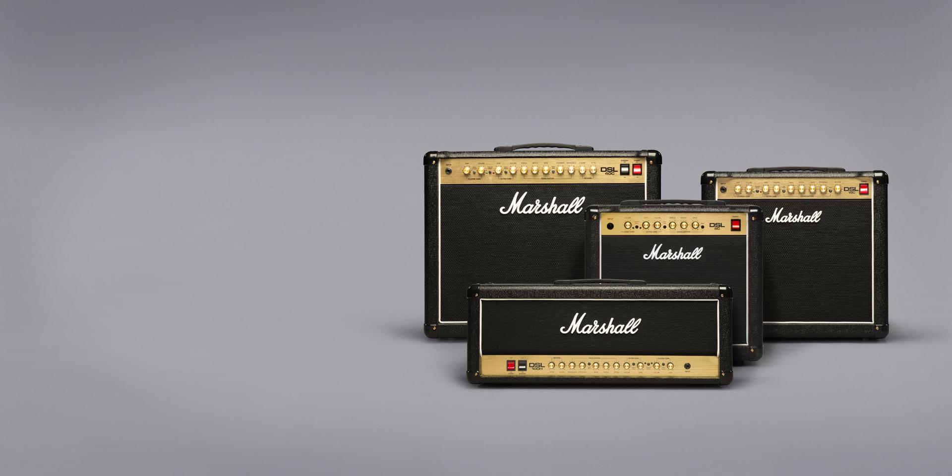 マーシャルのギターアンプ、DSLシリーズ